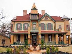 Georgetown, TX. home circa 1880