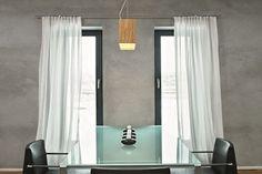Gardine minimalistisch, moderne Vorhänge, puristische Vorhänge, Gardinen…
