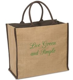 """Size: 15-1/2""""L x 7-1/2""""W x 14""""H Handle Size: 7"""" The brown jute tote is all you need in a spacious multipurpose bag. You can use it for shopping trips to the local market or to carry edibles on a picnic with your spouse. It could also hold a few items at home when you need the extra space for storage. The eco-friendly bag is made from jute, a 100% natural vegetable fiber with piping and rope handles with a matching natural cotton lining. It's strong enough to hold anything from college books…"""