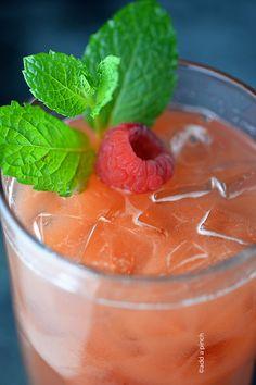 Raspberry Lemonade Recipe from addapinch.com