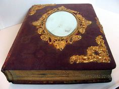 Antique Photo Album From the Victorian Era by VintageLoversShop, $60.00