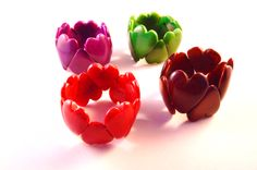 Very cute romantic heart-shaped design in various colours. An idea for a Valentine's present?