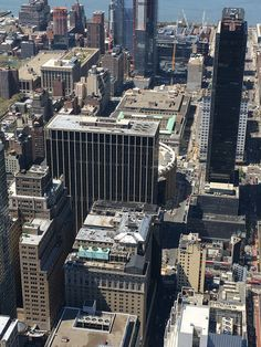 We can see our hotel from above the Empire State Building