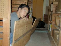 How to make a Rickety Floor for Haunted House walkthru