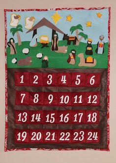 Serving Pink Lemonade: Nativity Advent Calendar