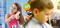 Estética Infantil Kids Pelitoos - $40 en lugar de $80 por 1 Corte de Cabello Profesional para Niños