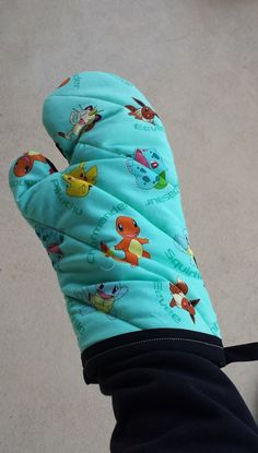 Pokemon Oven Mitts and Pot Holders Pokemon by BurritoPrincess