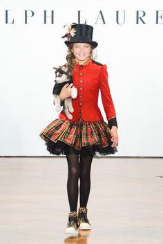 Ralph Lauren Girls Fashion Show