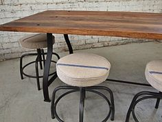 Industrial Kitchen Table | Retro Table | Cafe Furniture