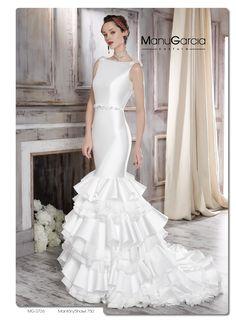 #vestidodenovia #volantes #aireflamenco #ManuGarcia #Novias #boda