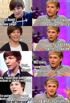 Last one, I promise. One Direction Mean Girls is the best think I've ever seen!