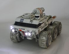 Gavin Rothery's prop rover for Moon