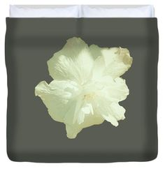 Sage Green Grey Vintage Hibiscus Duvet,Unique Duvet Cover,All Colors,King,Queen,Full,Twin,Bedroom Decor,Floral…