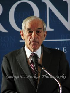Ron Paul - Republican primary presidential candidate.  by NorkusPhoto