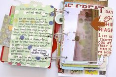 Such a cool journal. I will have to make something like this someday.