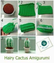 patrones de cactus al crochet에 대한 이미지 검색결과