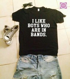 19 ideas funny shirts for teens teenagers truths Rock T Shirts, Cute Shirts, Funny Shirts, Band Shirts, Kpop Shirts, Rock Tees, Pastel Outfit, Look Fashion, Teen Fashion