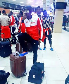 """NPFL all star went on a tour NPFL all stars, know as The Nigerian Premier Football League all stars, went for a wonderful tour in Spain, which will boost the players morale to do well in other to be included in the NPFL all stars list to go for the next tour. Ezekiel Bassey said """"It was wonderful in Spain, and looking forward for more tours."""" Looking at the below, you will see... #celebritygist"""