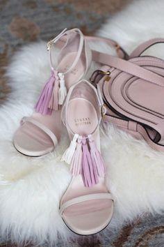 DIY Tassel Sandals