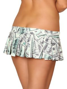 Enter to Win a Show Me The Money Mini Skirt ~ valued at $40.00
