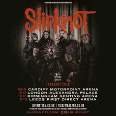 slipknot on tour 2016