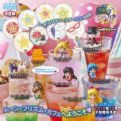 Ochatomo series, Sailor Moon: Moon Prism Cafe Figures