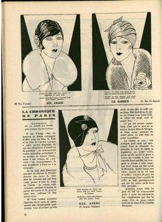 L'art et la mode n°1 de 1928 by FRANCISCO JOSE BUSTOS GONZALEZ