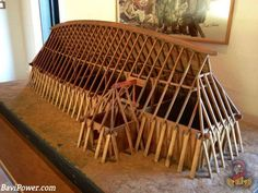 Generally, zero windows were used in the home. The roof would incorporate some smoke holes over the central firepits. Vikings Live, Norse Vikings, Viking Hall, Viking House, Viking Village, Viking Culture, Long House, Old Norse, Viking Ship