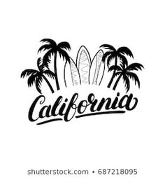 Best state in the whole land! California Quotes, California Logo, Traditional Tattoo Prints, Voyage Usa, Summer Logo, Surf Logo, Dream Catcher Tattoo Design, Grunge, Handwritten Letters