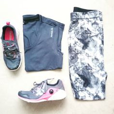 When your athletic wear is monochrome with a pop of colour - pretty much like how Monday's usually are  . . . . . . . . #monochrome #fitnesswear #athleisure #athleticwear #leggings #tee #sportsshoes #sneakers #reebok #puma #adidas #sportygirls #instafit #inspiration #healthylife #igmumbai #getfit #fashionblogger #sportychic #running #sports #fitness #clothes #streetwear #ootd #streetstyle #instafashion #instadaily #fitnessgirl #shadesofgrey