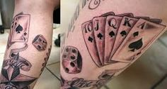 Ace Of Spades Tattoos And Meanings-Ace Of Spades Tattoo Designs, Ideas, And Pictures