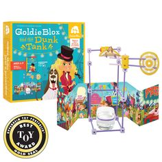GoldieBlox and the<br>Dunk Tank (Ages 4-9)