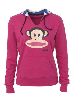 This pink #PaulFrank hoodie is perfect for school or hangin' out with friends! #Delias