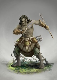 Pathfinder of Swamps by GaiasAngel.deviantart.com on @DeviantArt