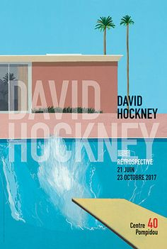 David Hockney, au Centre Pompidou, à Paris, en 2017.