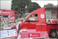 Rocketchefs - a first of its kind food vans on call - launches in Gurgaon  - Read more at: http://ift.tt/1ltxwOF