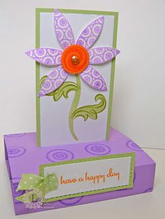 Free Standing Pop Up Card Tutorial