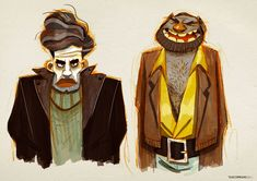 ArtStation - Various Characters, Thibault LECLERCQ