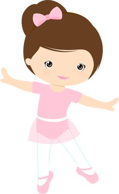 Best of Ballerina Clipart to use for craft projects, printing, cover of classroom lessons School Clipart. Baby Ballet, Ballet Girls, Ballet Dancers, Ballerina Birthday Parties, Ballerina Party, Ballerina Cartoon, Kids Cartoon Characters, Cartoon Kids, Little Girl Ballerina