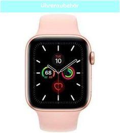 1. Uhrenzubehör Uhrenzubehör Apple Watch Series 5 44 mm (gps) rosa, gold AppleApple Apple Watch Series, Smart Watch, Challenges, Pink, Clock, Smartwatch