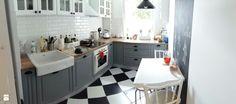 Biało-szara kuchnia - zdjęcie od Karolina Sutula - Kuchnia - Styl Skandynawski - Karolina Sutula
