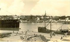 Puerto de Santo Domingo década de los 30
