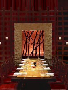 Asian Style Dining Room
