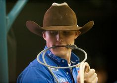 Tuf Cooper.. :) I have no words about how attractive he is! He is like the Channing Tatum of rodeo!