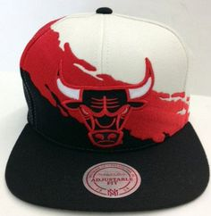Chicago Bulls Paint brush  New Era SnapBack New Era Snapback a4a807f1d77