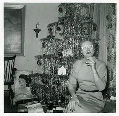 Another glamorous Christmas at Granda Edith's.