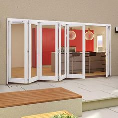 Folding Patio Doors Folding Patio Doors, Garage Doors, Indoor, Construction, Freeze, Outdoor Decor, Wall, House, Home Decor