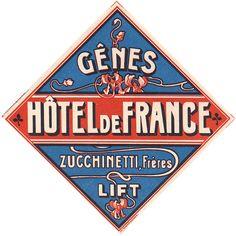 genes genova hotel de france italy
