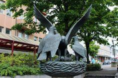 Sea Eagle Sculpture Bodø (3)