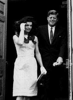 Jackie & John Kennedy